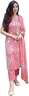 BRAHMASTRA Women Rayon Printed Kurti with Pant & Dupatta Set for Women&Girls