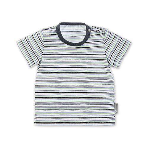 Sterntaler Baby-Jungen T-Shirt, Weiß (Weiss 500), 6-9 Monate (Herstellergröße: 74)