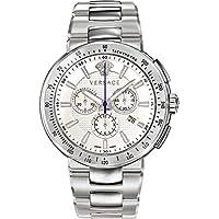 Versace Mystic Sports Chronograph Quartz White Dial Men's Watch (VFG090013)