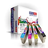 MultiPack 4 Cartucce Compatibili Epson T1295 per stampanti Epson Stylus Office B42WD / BX305F / BX305FW / BX320FW / BX525WD / BX625FWD ; Stylus SX420W / SX425W / SX525WD / SX620FW