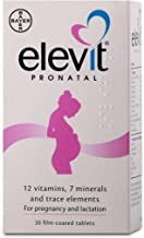 elevit pregnancy multivitamin tablets