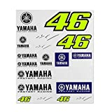 Valentino Rossi Yamaha Dual-Racing, Stickers Big Set Hombre, Multi, Solamente