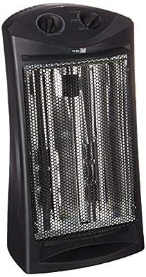 BLACK+DECKER BHTI06 Infrared Quartz Tower Heater, One Size, Black