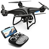 Holy Stone HS100 GPS Grand Drone avec Caméra HD 1080P 120°Grand Angle WiFi FPV,GPS Retour à La Maison,Maintien de l'altitude,Quadcopter Avion radiocommandé, Jouet Cadeau pour Adultes et Débutants