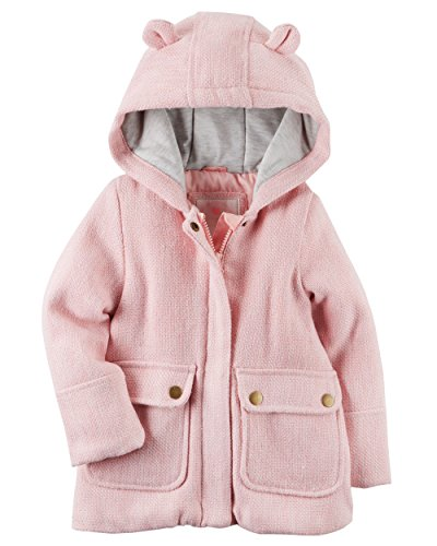 Carters Baby Girl Peacoat (2T, Pink)