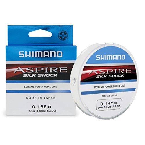 Shimano monofilamento Aspire Silk Shock 0.165mm 150MT.