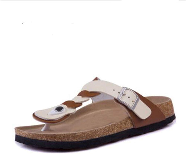 YaMiFan Women's Open Toe T-Strap Thong Slide Flat Sandal Platform Flip Flops