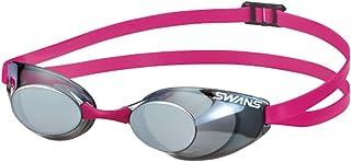 SWANS(スワンズ) スイミングゴーグル 水泳 競泳用 スイミングゴーグル スナイパー ノンクッションタイプ ミラーレンズ Fina承認 SR-10M