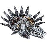 YYDE S7101 Star Wars Millennium Falcon Starship Construction Set, el Auge de la colección Skywalker, ensamblando Juguetes, Juguetes de Montaje de Rompecabezas