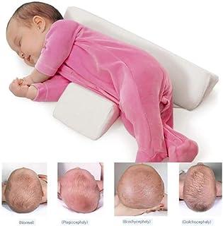 Bebamour Baby Head Protection Morbido e traspirante Supporto per poggiatesta Guanciale per neonati Beige