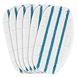 LINNIW 6 Pack Replacement Steam Mop Pads Compatible PurSteam ThermaPro 10-in-1
