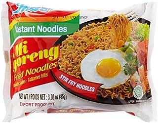 Indomie Mi Goreng Instant Stir Fry Noodles, Halal Certified, Original Flavor (Pack of 30)-SET OF 2