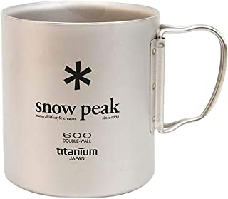 Snow Peak, Japanese Titanium, Made in Japan, Ultralight for Camping and Backpacking, Lifetime Product Guarantee