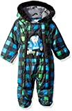 Wippette Baby Boys Snowsuit Pram, Buffalo Check Black, 6/9M