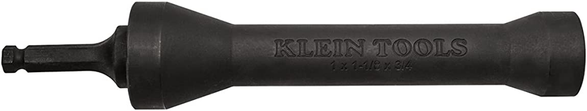 Klein Tools NRHD 3-In-1 Impact Socket, Features Three Square Socket Sizes: 3/4-,1, and 1-1/8- Inch