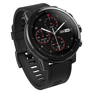 Amazfit Stratos - Smartwatch con GPS y Sensor de frecuencia cardíaca (Resistente al Agua 5ATM) Color Negro - Bluetooth - soporte iOS y Android - Unisex (B07BBF7SVX) | Amazon price tracker / tracking, Amazon price history charts, Amazon price watches, Amazon price drop alerts