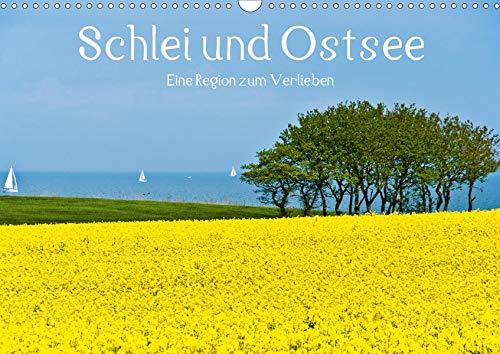 Schlei und Ostsee - Eine Region zum Verlieben (Wandkalender 2020 DIN A3 quer): Schlei und Ostsee: Die beliebte Urlaubsregion in Angeln und Schwansen (Monatskalender, 14 Seiten ) (CALVENDO Natur)