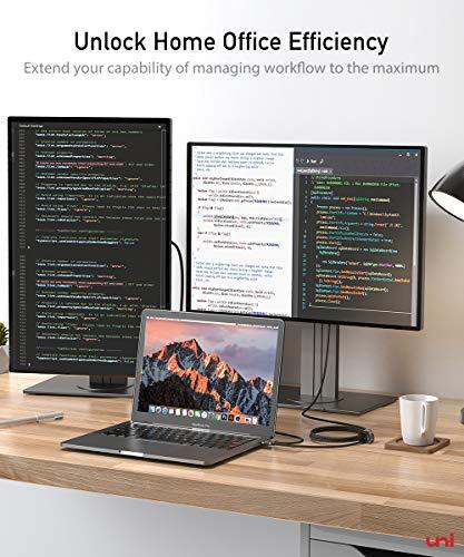 USB C auf HDMI Kabel (4K@60Hz), USB Typ C zu HDMI 2.0 Kabel [Thunderbolt 3 kompatibel] für Chromebooks und viele weitere Notebooks - 4