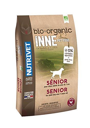 Nutrivet INNE PET FOOD Aliment Complet Bio pour Chien Senior 3 kg