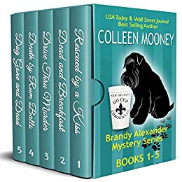 New Orleans Go Cup Chronicles Vol 1-5: There's no place like New Orleans to have a good CRIME! by [Colleen Mooney]