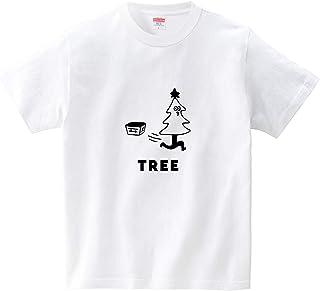 クリスマスツリーが走り出す(Tシャツ?ホワイト) (オワリ)