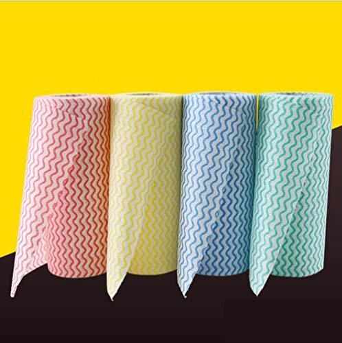Wegwerp Cleaning Towel 4 Roll niet geweven stof Theedoek washandje handdoek House reinigingsdoekje Duster