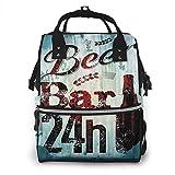 nbvncvbnbv Beer Bar 24h Figura Old Pub Bolsa de pañales Multifunción...