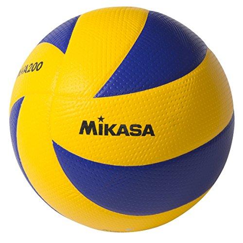 Mikasa MVA200 2008 (Beijing), 2012 (London), und 2016 (Rio) Indoor Olympic Games Ball (blau/gelb).