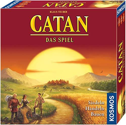 Kosmos 693602 CATAN Das Spiel, neue Edition, Strategiespiel