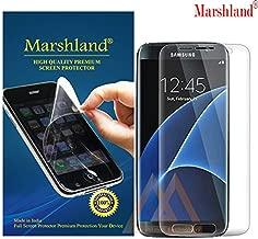 MARSHLAND 3D Front Screen Protector Matte Finish Flexible Design Anti Scratch Bubble Free Screen Guard Compatible for Samsung Galaxy S7 Edge