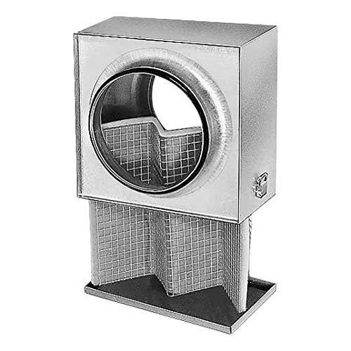 Helios Luftfilter-Box LFBR 160 G4 Flachluftfilter 4010184085782