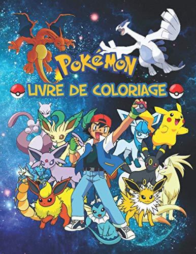 pokémon Livre De Coloriage: NOUVEL EDITION LIVRE DE COLORIAGE POKEMON -60 Pages Géantes à colorier