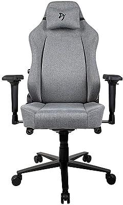 Arozzi Primo-WF-GYBK Computer Gaming/Office Chair, Black