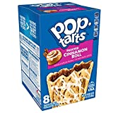 Pop-Tarts, Breakfast Toaster Pastries, Frosted Cinnamon Roll, Proudly Baked In the USA, 64Count (Pack Of 8, 13.5 Oz Boxes)