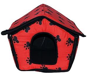 Niche en tissu pliable/lit chien/chambre portable/Nid Animaux pour Chiens, Chats Petits en forme de maison