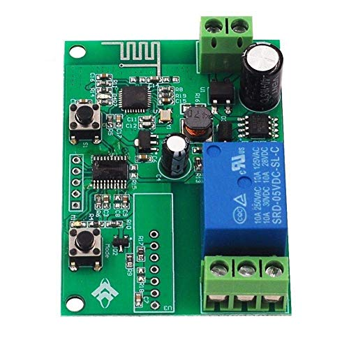 HYY-YY Wifi Remote Rela Module Mobile App Remote Control 8V 80V Scientific Experiment Module (Size : 8-80v)