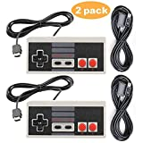 VonSom Classic Controller for NES Nintendo Classic Edition Mini Wired Controllers Replacement Joypad 11.8ft Cable, 2 Pack