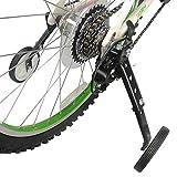Estabilizador universal de ruedas junior, rueda de entrenamiento de bicicleta para niños Asistente de estabilizador de equilibrio de bicicleta de acero para bicicleta de 16-18-20-22-24 pulgadas,