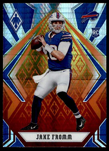 2020 Fanatics Exclusive Phoenix Football Fire Burst Prizm #108 Jake Fromm RC Rookie Buffalo Bills Official NFL Trading Card