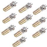 BANANAJOY Lámpara de Ahorro de energía GY6.35 Bombilla de Silicona 3014 SMD 36LED Lámpara de Ahorro de energía 4W (40W Halógeno Equivalente) Bombilla LED Adecuada para iluminación para el hogar AC/D