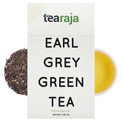 Tearaja Earl Grey Green Tea, 100G