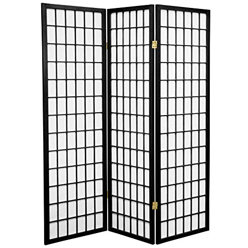 ORIENTAL-FURNITURE-Original-Asian-Style-Portable-Partitions-5ft-Window-Pane-Japanese-Privacy-Screen-Room-Divider-4-Sizes-6-Colors