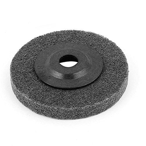 Aexit 100mm Schleif-, Schrupp- & Trennmaterial x 16mm x 13mm Cutting Schleifteller Schleifmittel Gewickelte Vlieskompaktscheiben Schleifscheibe grau