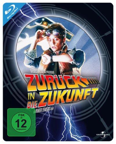 Zurück in die Zukunft 1 - Steelbook [Alemania] [Blu-ray]