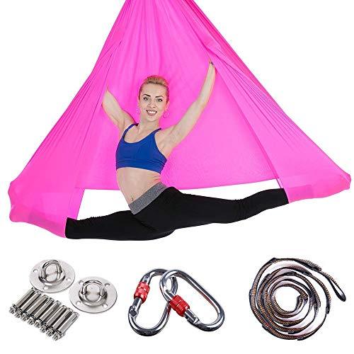 YANSJD Aerial Yoga Hängematte Home Stretch Sling Sling Yoga Gym Stretchgürtel