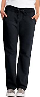 Hanes Womens French Terry Pocket Pant
