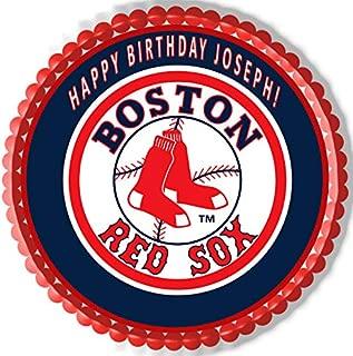 Incredible Amazon Com Boston Red Sox Grocery Gourmet Food Birthday Cards Printable Nowaargucafe Filternl