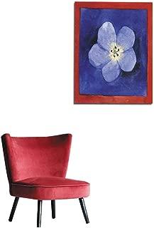 longbuyer Wallpaper Watercolor Forget-Me-Not Flower Mural 32