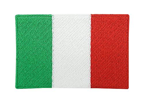 Italien Flagge Patch zum Aufbügeln   Italian Flag Patches, WM Fahne Bügelbild, Italienische Aufbügler, Aufnäher Finally Home