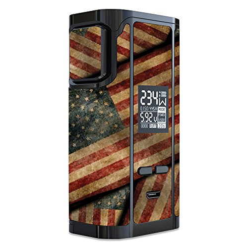 MightySkins Skin Compatible with iJoy Captain PD270 - Vintage American | Protective, Durable, and Unique Vinyl Decal wrap Cover | Easy to Apply, Remove, and Change Styles | Made in The USA